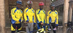 Cycling team Gambia donated new cycling gear from Holland
