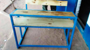 Buy School Desks for the children of Brufut