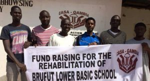 Sponsor Walk in Gambia to kick-off Crowdfunding Campaign