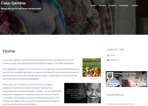 CASA Gambia website live