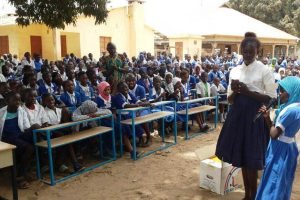 First batch of School Desks delivered to Brufut Children