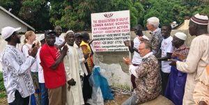 Start Rehabilitation works at Brufut Gambia school celebrated