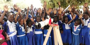 Telescope opens skies for Brufut children