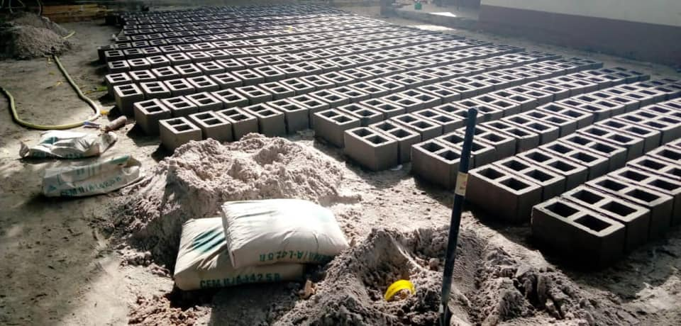 local brick production for Brufut LBS expansion