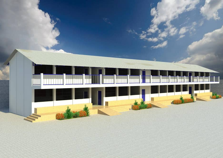 design for expansion of Brufut LBS with 10 classrooms