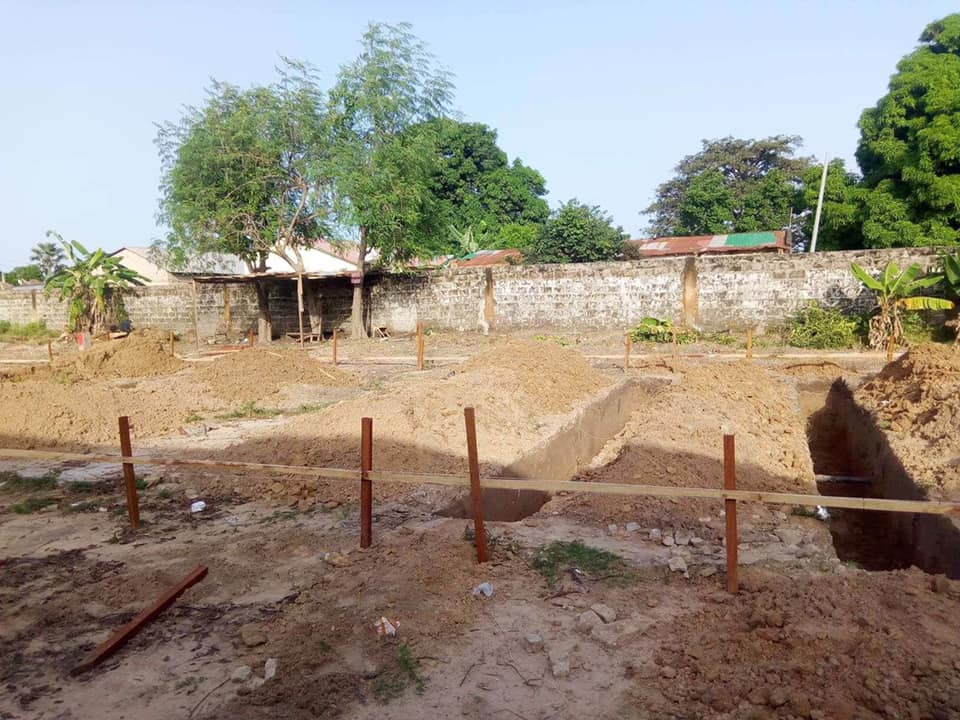 foundation work starting for Brufut LBS expansion