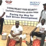Food security project CASA Gambia