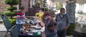 Busy Sunday at CASA Gambia Garage Sale in Limburg